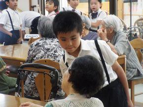 デイケアセンター訪問(3・4年生)