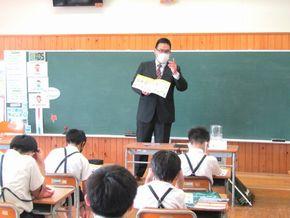 学校説明会(自彊館中学校)